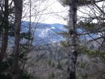 View of Attitash Ski Area from Living Room