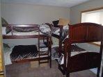 Bunk Room with Closet & Bureau