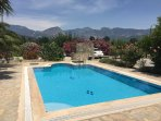 The sunny, private and secluded pool