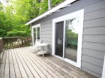 Pinnacle bunkie, walk-outs from water view bedrooms.