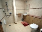 En-suite to downstairs bedroom - wetroom shower