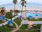 Spacious, Beautiful Heated OceanFRONT Pool and Kiddie Pool