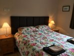 2nd bedroom as a large double bed or twin beds