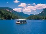 Enjoy a boat ride on Lake Lure... 3 minutes away