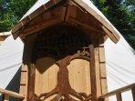 Bienvenue dans notre Tipi Tiny-House