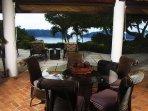 Alfresco (open-air) dining