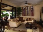 Share a TV moment with your family in the open living room