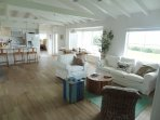 Completely refreshed Gull House Interior.