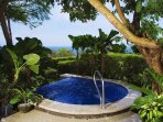 Enjoy the Jacuzzi and its splendid ocean view