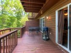 Relax on the deck and prepare some BBQ on the grill