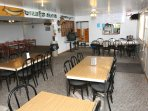 Full restaurant on property - let us cook for you if you want a break !!!