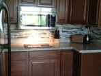 BRAND NEW Kitchen, New Cabinets, Built-in Induction Cooktop, Microwave