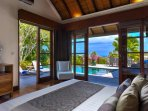 Luxury 2 bedroom Villa with private pool overlooking the beautiful Indian Ocean.