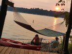 We're including private 550 sq ft. access to Lake Sammamish, directly across the street rental.