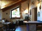 Un accogliente salotto dove rilassarsi in famiglia o tra amici