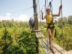 The fabulous Forest Adventure Park (think Go-Ape on steroids!) Great fun :)