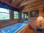 The rejuvenating jetted tub