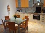 Cucina appartamento ARANCIO