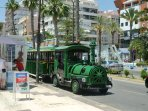 Tourist Train in Torrevieja Town