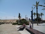 Beach in Torrevieja Town
