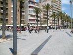 Beachfront in Torrevieja