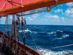Open sea sailing at its very best