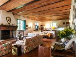 Casale Le Fonti - Living room
