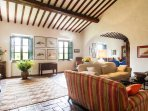 Casale Le Fonti - Living room 1st floor