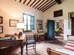 Casale Le Fonti - Living room - study