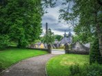 View of Strathisla Distillery from St Rufus Park Seafield Avenue, Keith BCKloon Photography