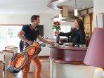 Accueil Golfeur Hôtel Spa St Malo Maison de vancances, stage de golf
