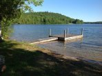 Your own private dock and boat launch!