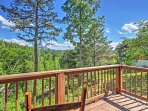Stunning nature views await you on this lovely deck!