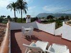 Sun terrace for stunning views