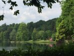 Stourhead Gardens, just a 15 mins drive away.  Longleat Safari Park is just a little further on.