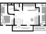 Bellecote Apartment Floorplan