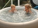 Hot tubs available to hire from cumbria hot tub hire