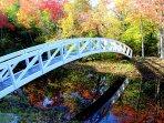 Beautiful Fall Colors dress up Somesville Bridge!