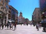 'Korzo' - a main pedestrian street