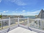 Take in marvelous views from the deck at this Sea Isle City vacation rental house!