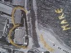 mappa villa Larapiana e depandance