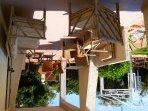 veranda quadrilocale piano terra