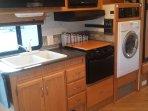 Cincinnati Rv Rental washer/dryer unit