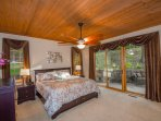 Downstairs Master Suite - King Bed, HDTV with TiVo DVR, NetFlix and great serene views!