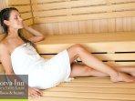 sauna in the wellness