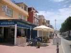 Promenade plenty of bars and restaurants