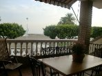 Wonderful first line views from the  30 meteres terrace (Beach and Malaga bay)