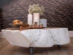 handmade table of wood