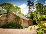 The Old Smithy is completely self-contained, sharing only a driveway with the owners property
