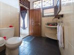 Bathroom upstairs mainhouse Sinar Cinta.